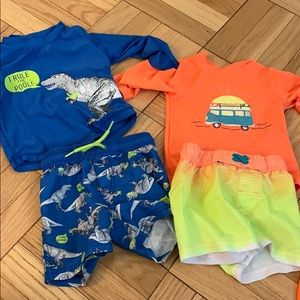Other - Toddler boys 18 month swim gear.